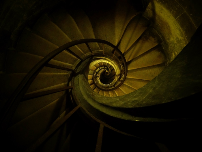 The stairs of the Pantheon